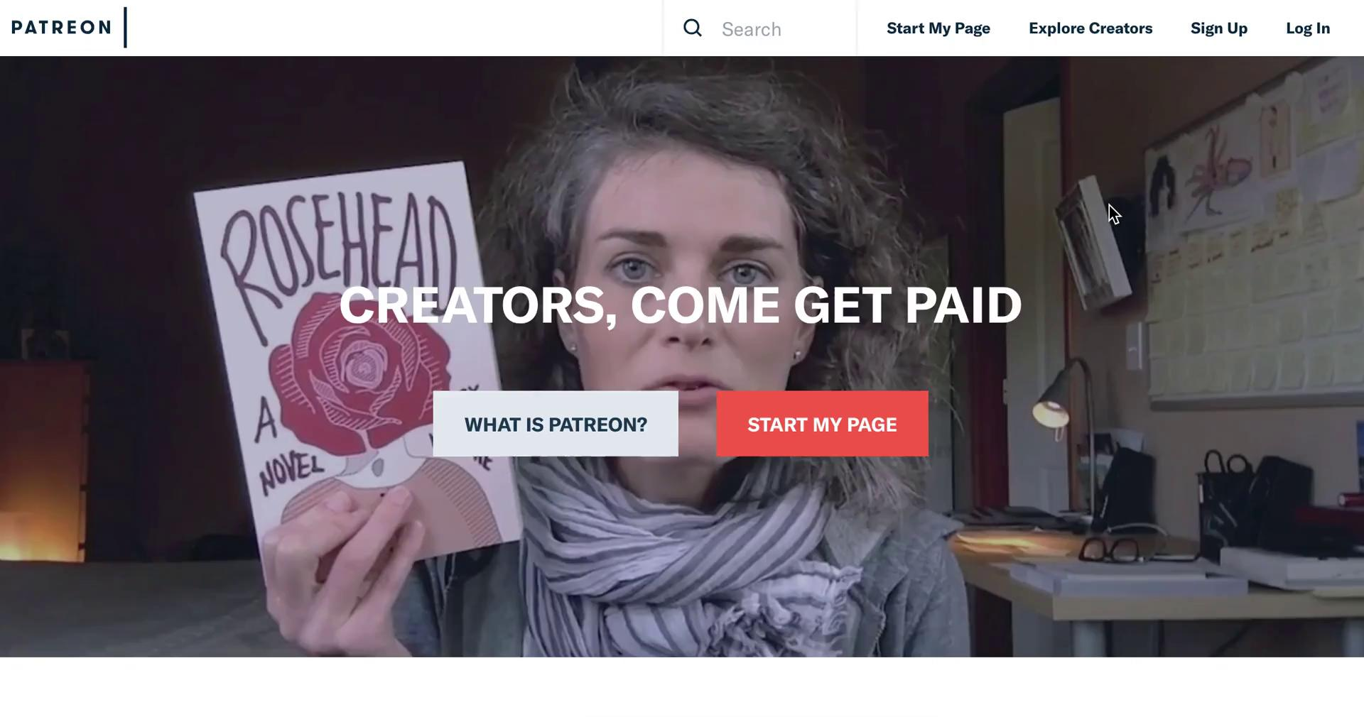 Screenshot of during Creating a campaign on Patreon user flow