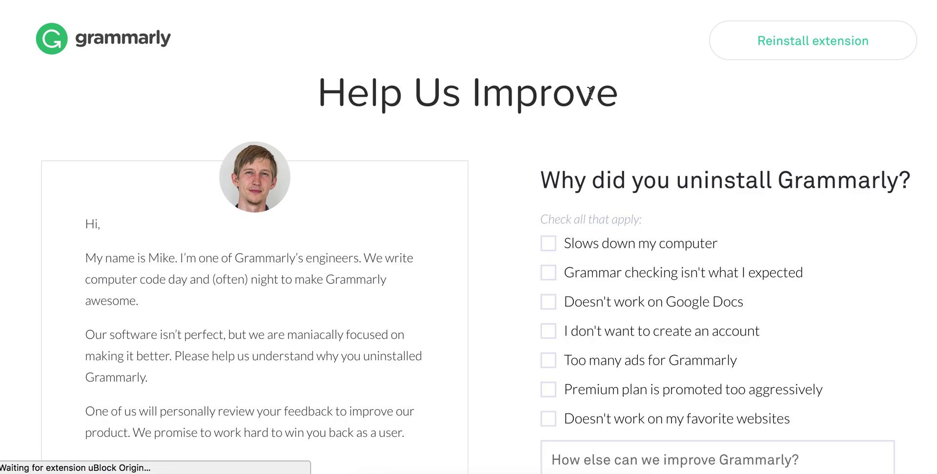 The Basic Principles Of How To Uninstall Grammarly