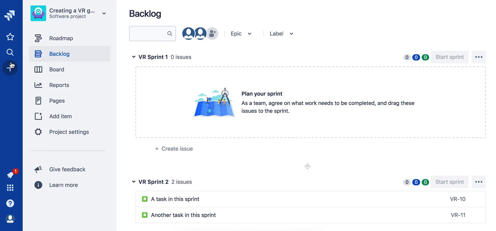 Tasks on Jira video screenshot