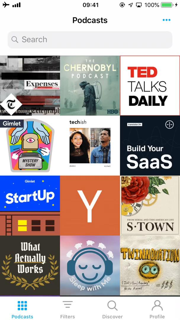 Listening on Pocket Casts video screenshot
