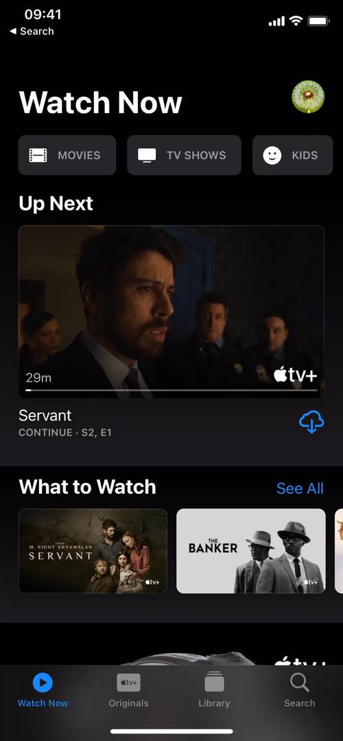 Discovering content on Apple TV video screenshot