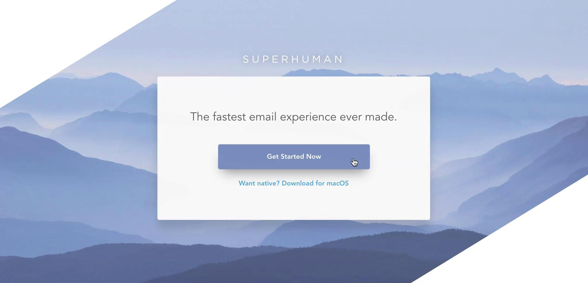 Onboarding on Superhuman video screenshot