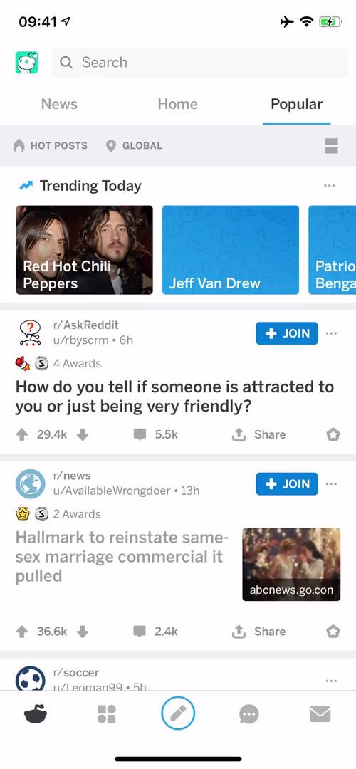 Searching on Reddit video screenshot