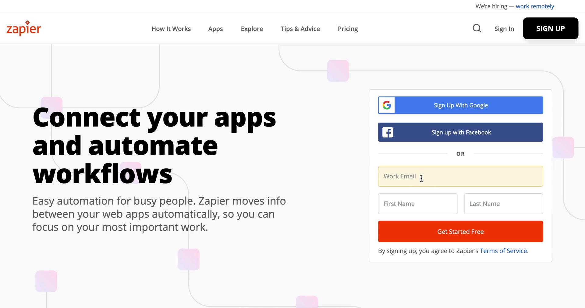 Onboarding on Zapier video screenshot