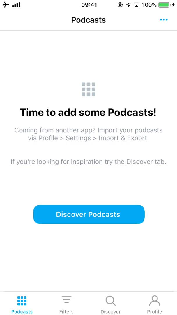 Discovering content on Pocket Casts video screenshot