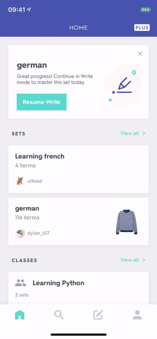 Upgrading your account on Quizlet video screenshot