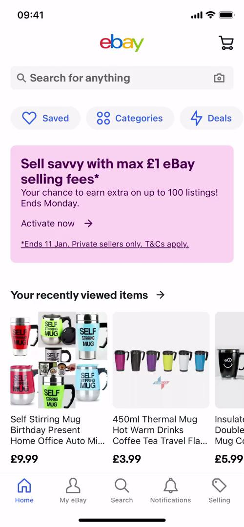 Saving on eBay video screenshot