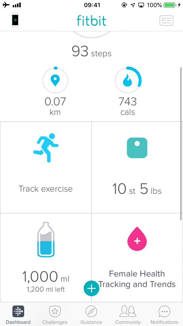 Adding data on Fitbit video screenshot