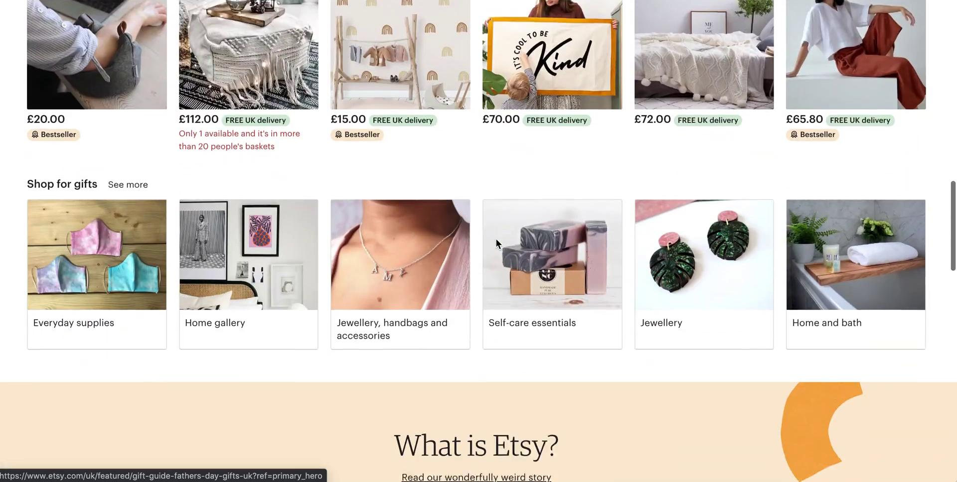 Becoming a seller on Etsy video screenshot