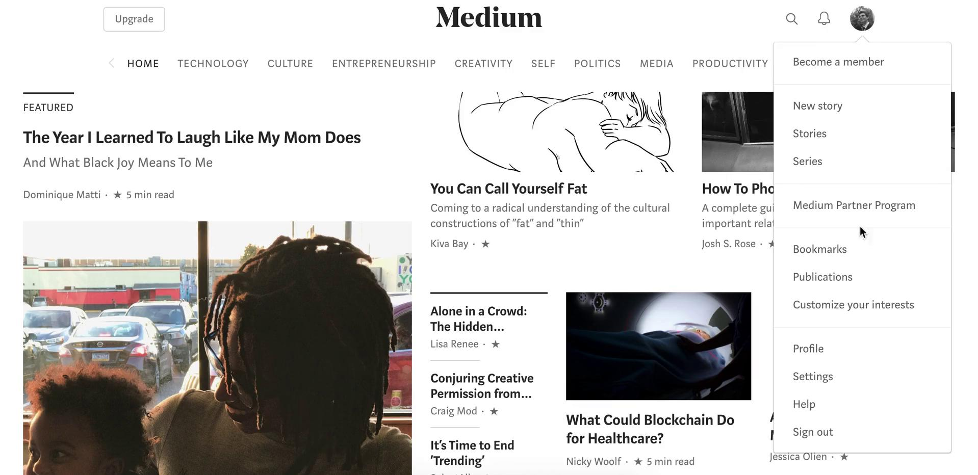 Creating a publication on Medium video screenshot