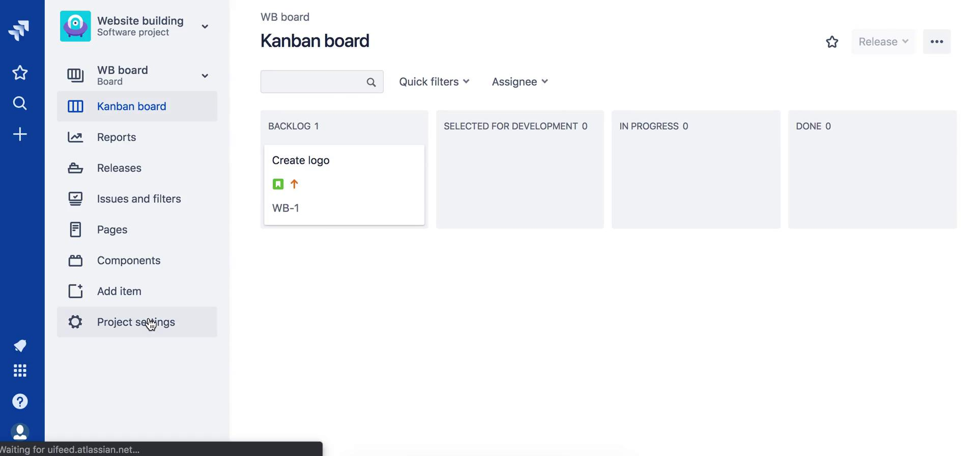 Inviting people on Jira video screenshot