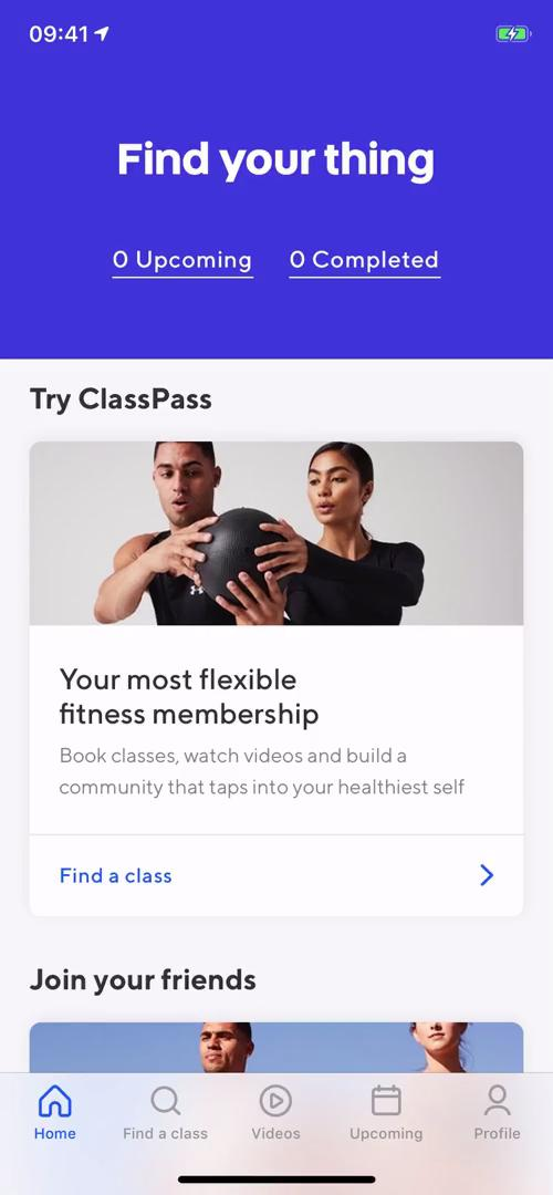 Upgrading your account on ClassPass video screenshot