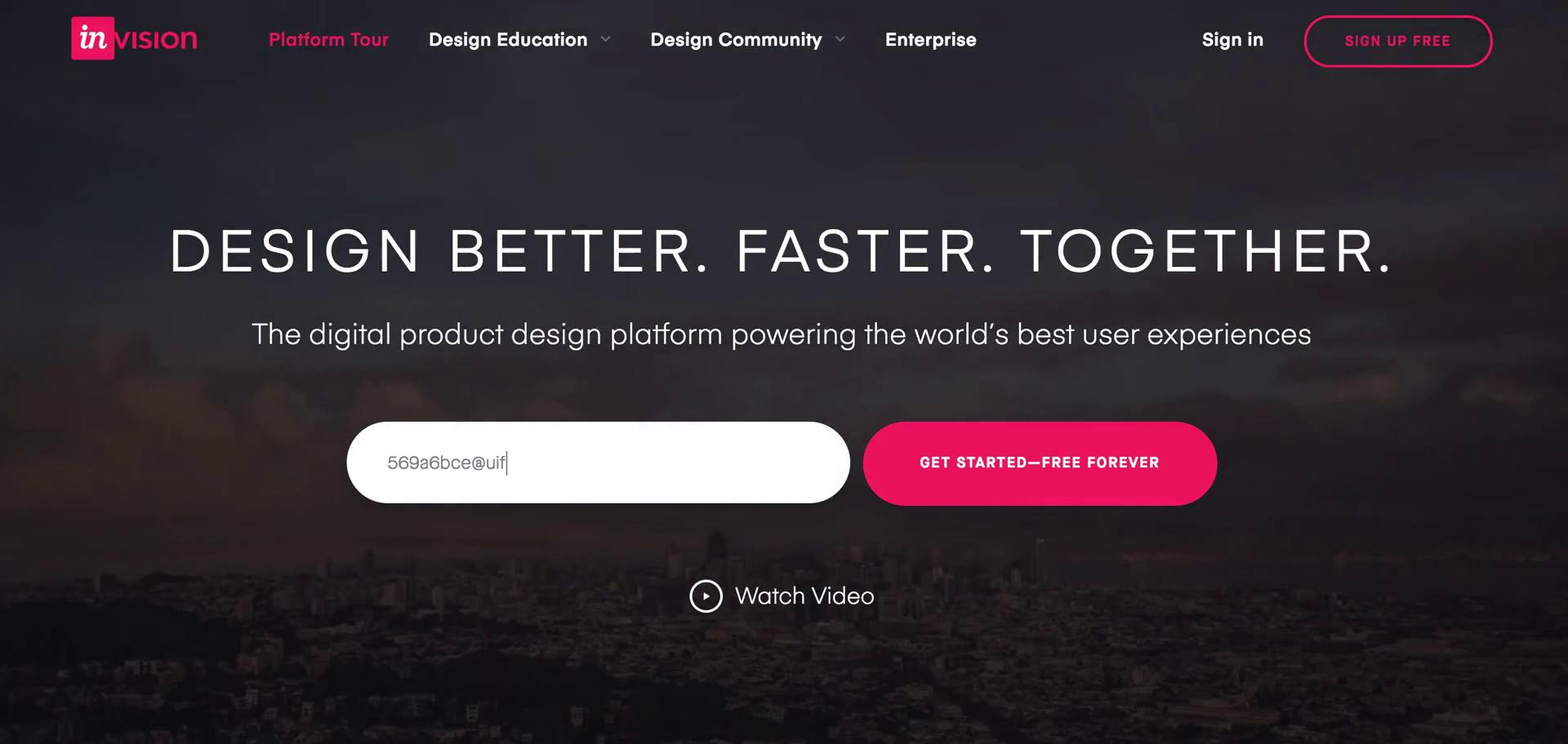 Onboarding on InVision video screenshot