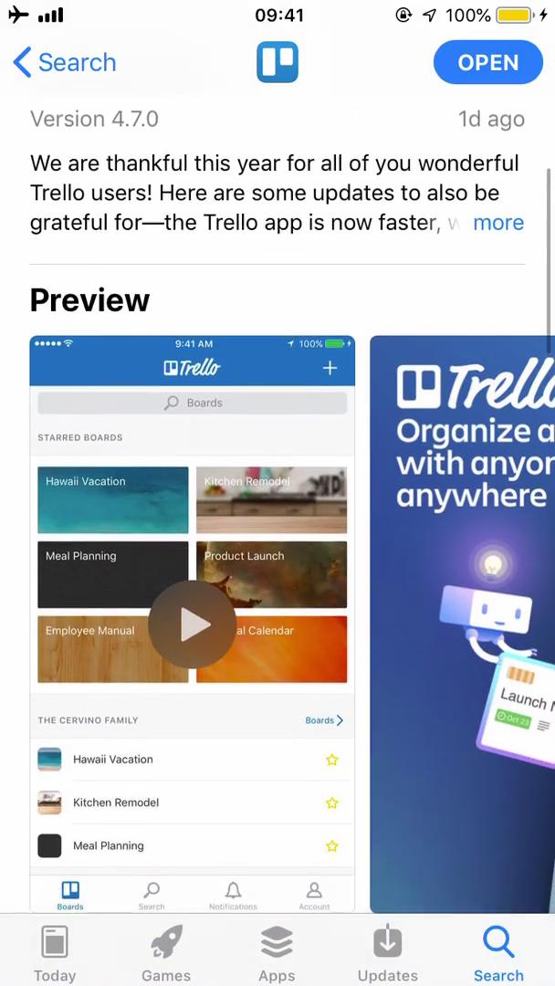 Onboarding on Trello video screenshot
