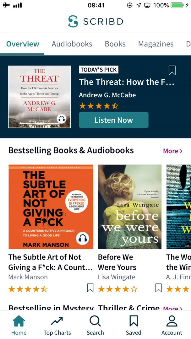 Discovering content on Scribd video screenshot