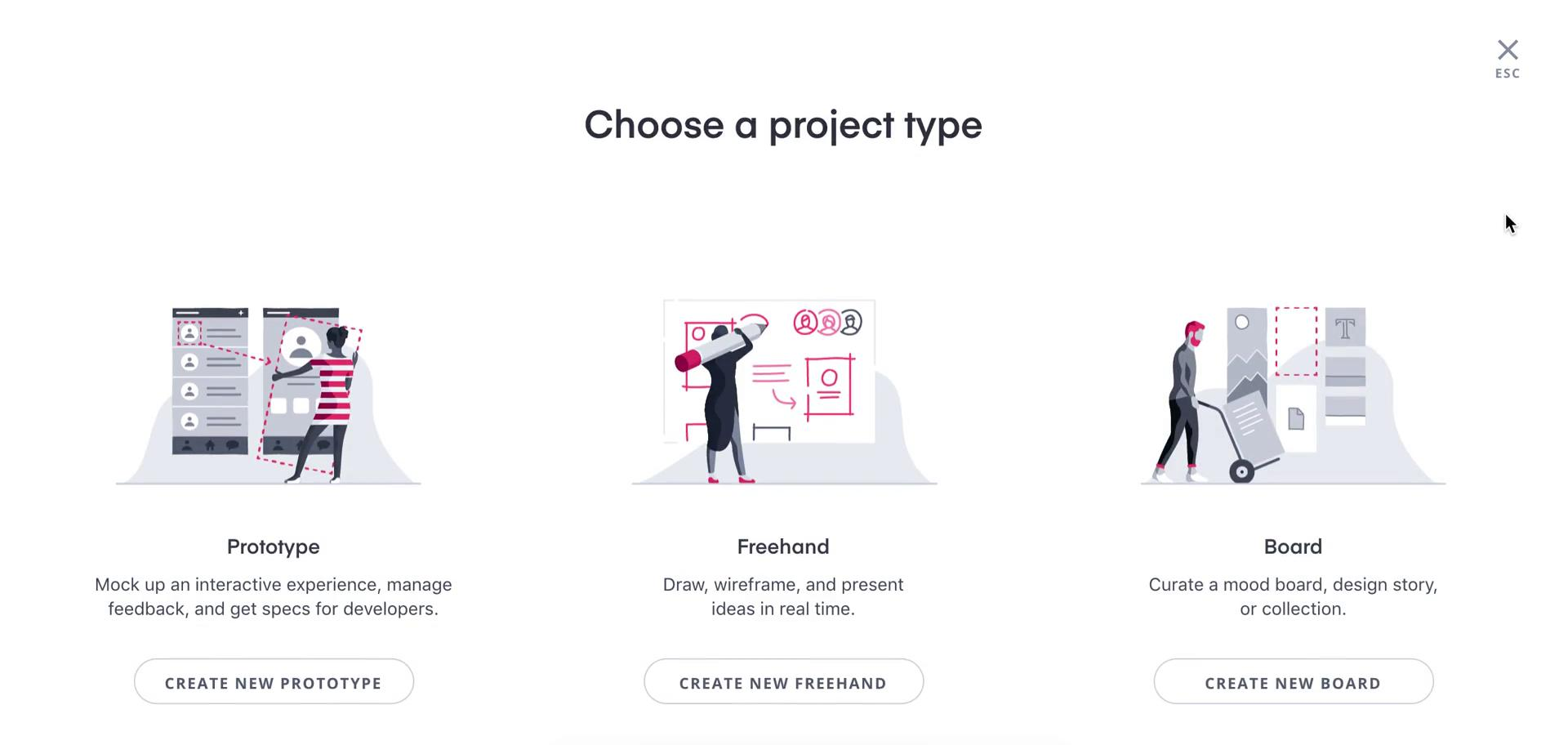 Creating a design on InVision video screenshot