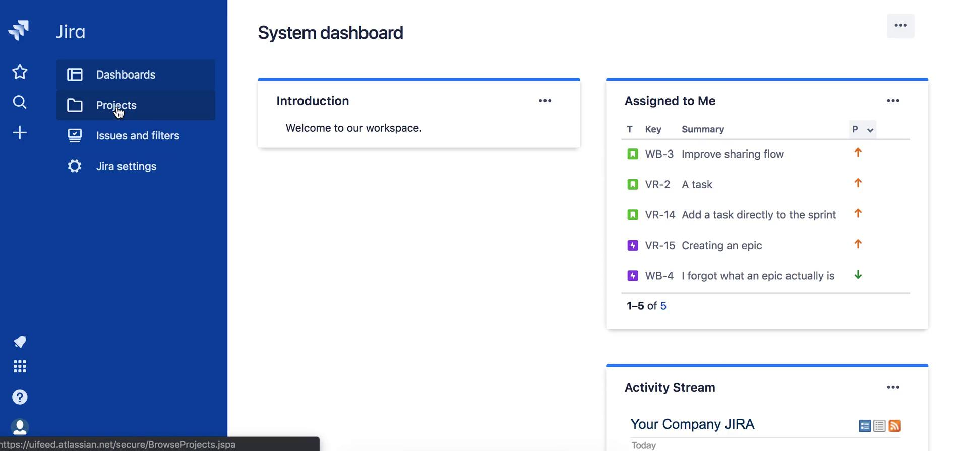 Analytics/Stats on Jira video screenshot