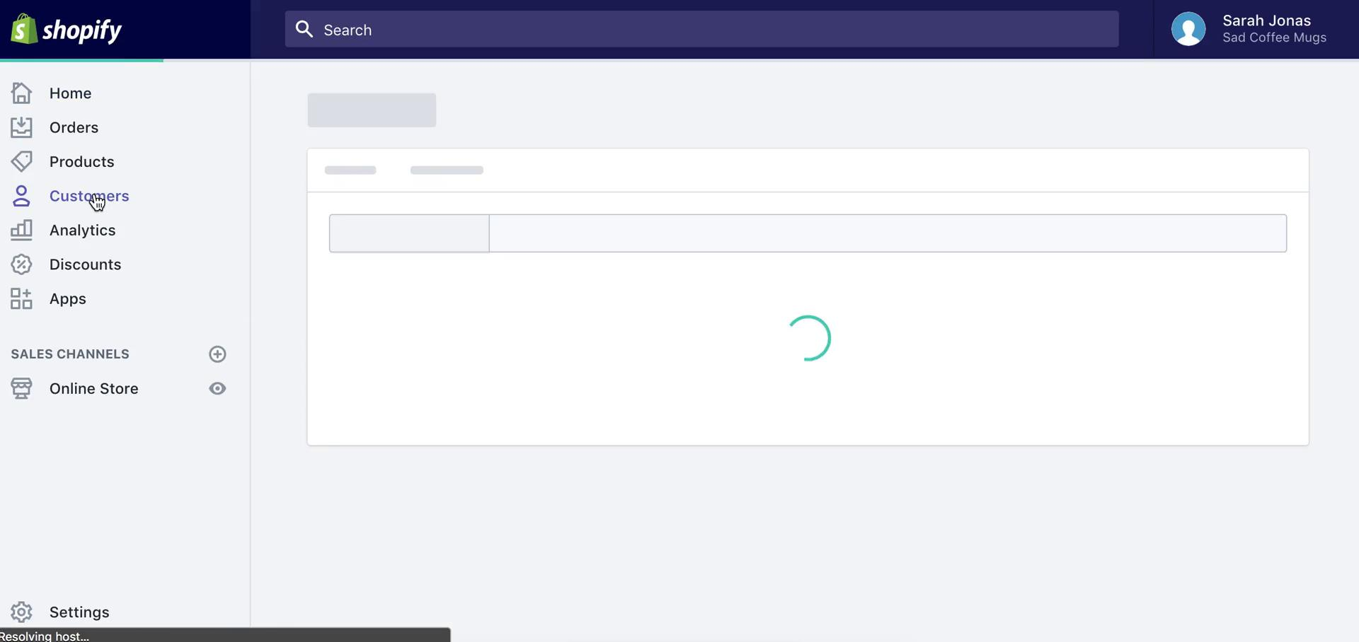 Adding a contact on Shopify video screenshot