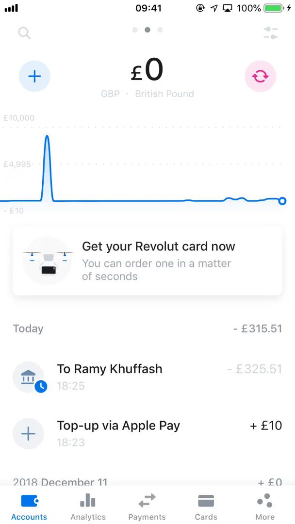 Creating a pot on Revolut video screenshot