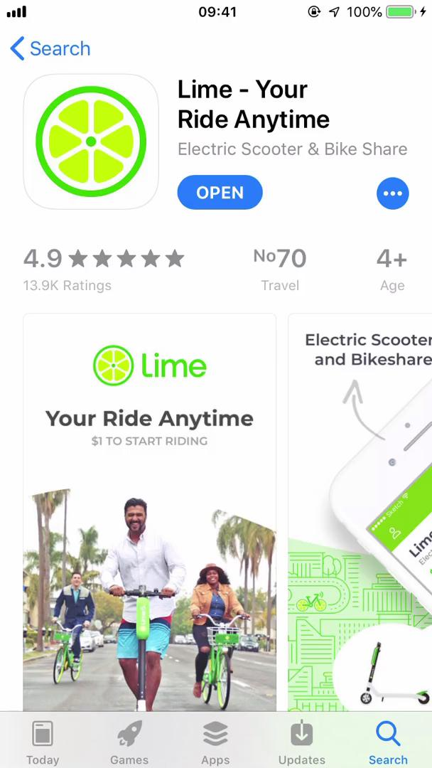 Onboarding on Lime video screenshot