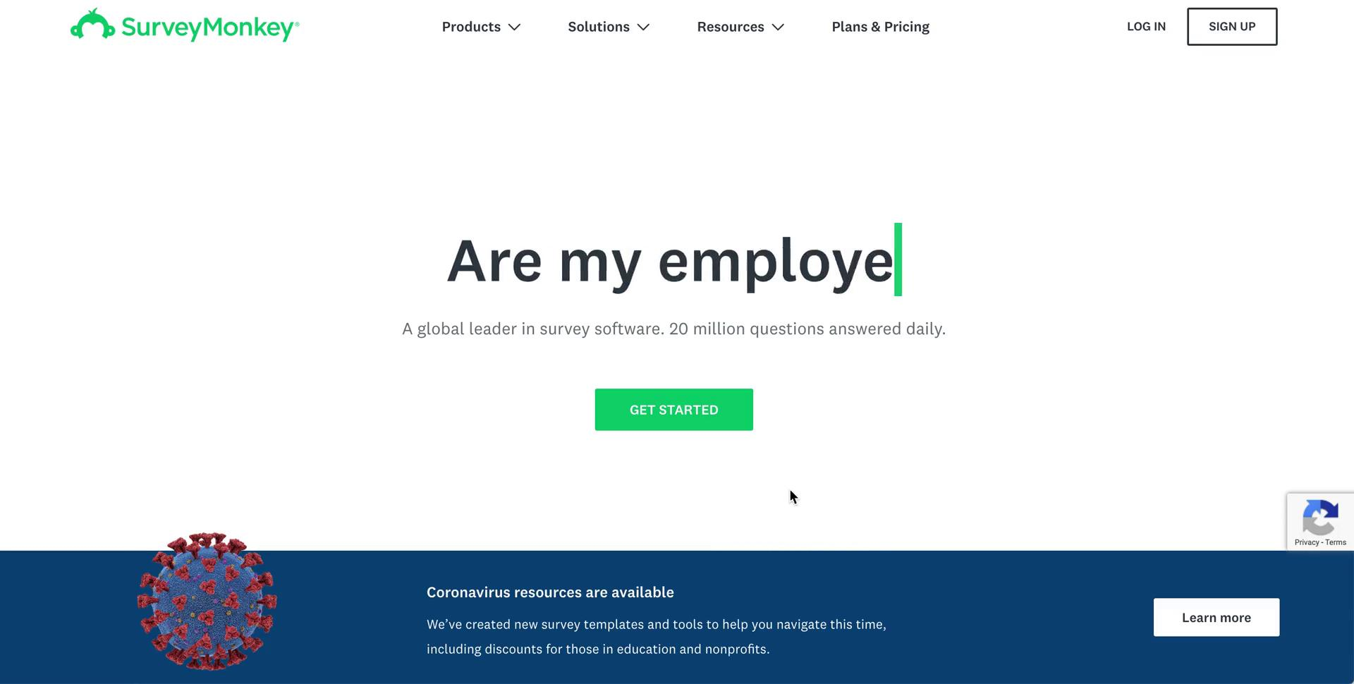 Onboarding on SurveyMonkey video screenshot