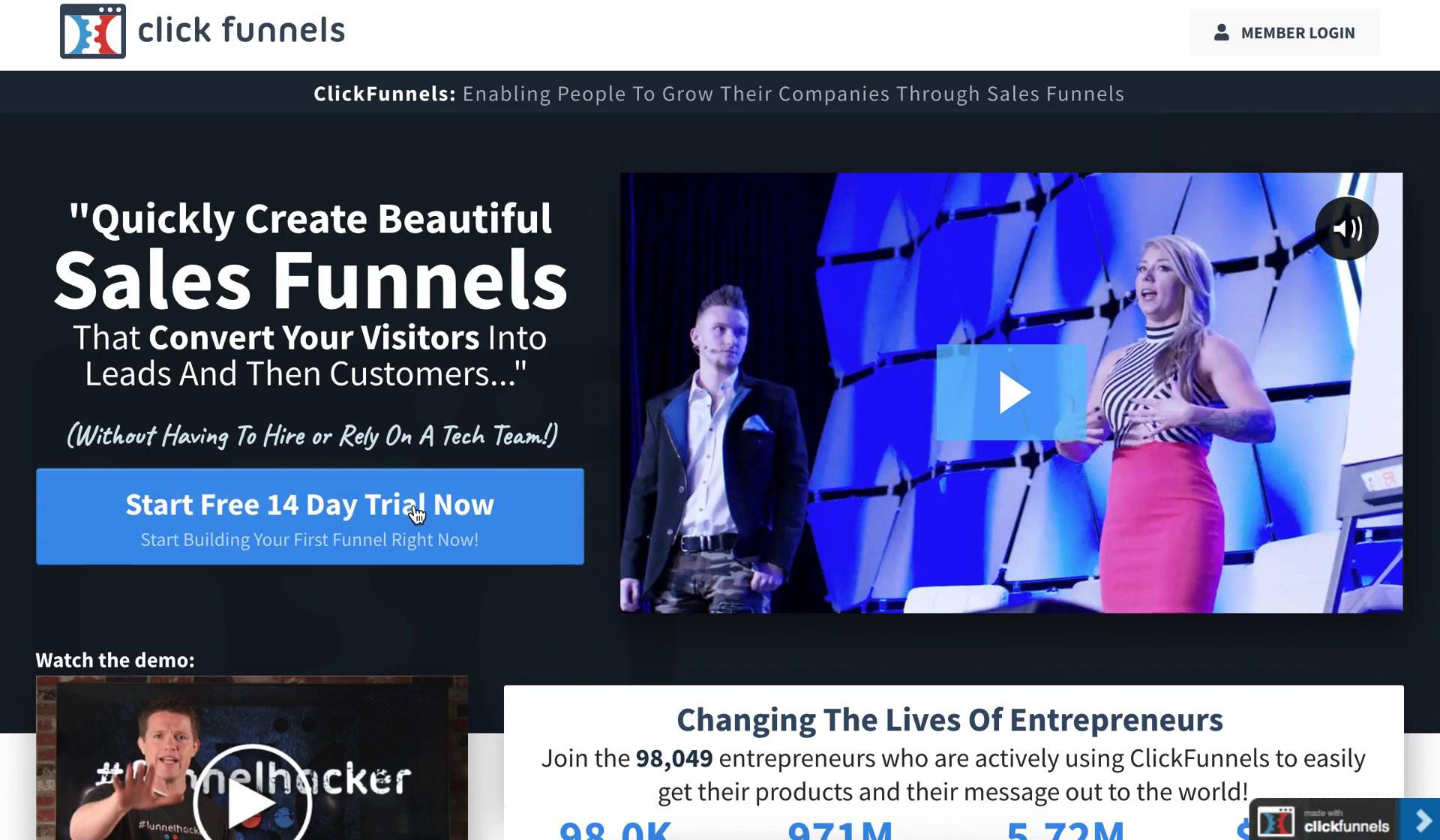 Onboarding on ClickFunnels video screenshot
