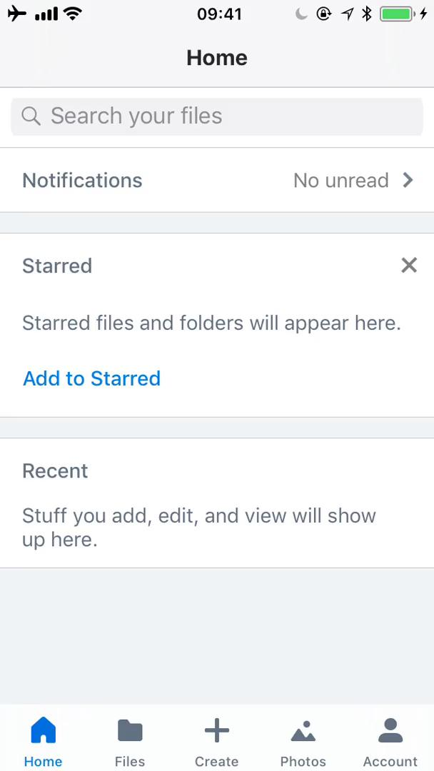 Adding files on Dropbox video screenshot