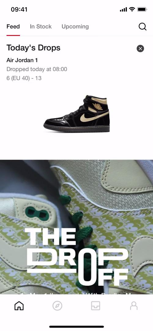 Buying something on SNKRS by Nike video screenshot