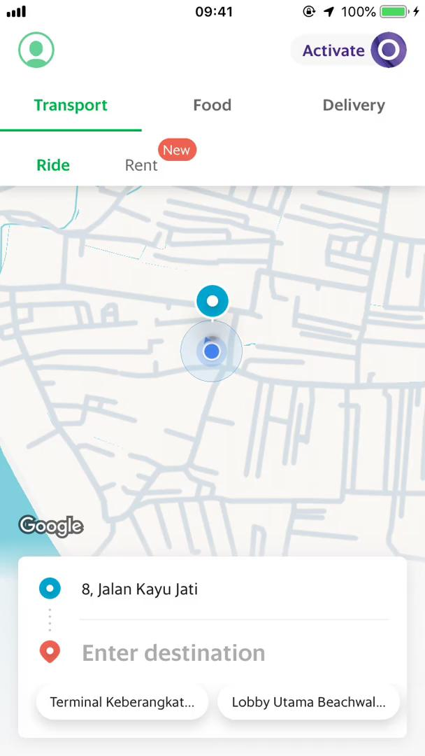 Ordering food on Grab video screenshot