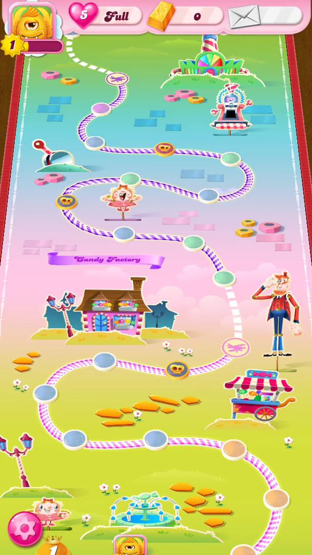 In-app purchases on Candy Crush video screenshot