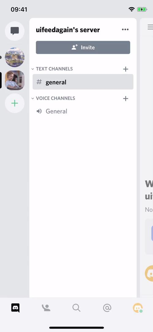 Creating a group on Discord video screenshot