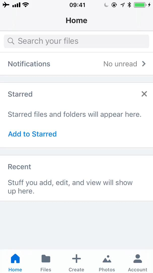 Deleting files on Dropbox video screenshot